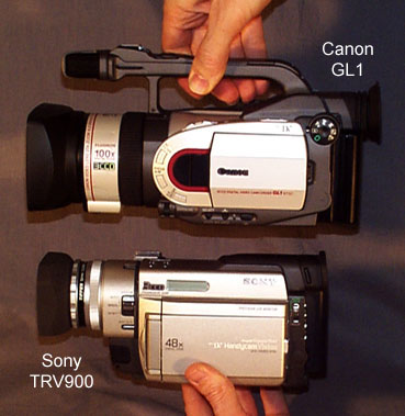 canon gl1 notes and observations rh bealecorner com Canon Cameras Canon Camcorders
